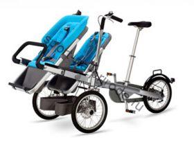 Велотрансформер Eltreco Taga (2) для двух детей