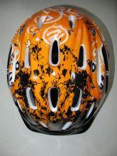 Детский шлем для роликов, Оранжевый.