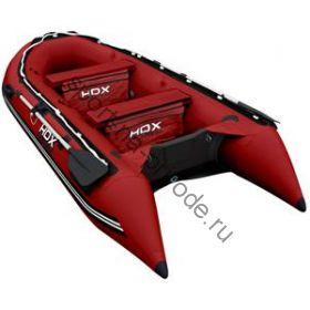 Лодка HDX надувная, модель OXYGEN 330 AL, цвет красный