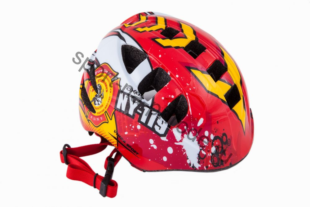 Детский шлем с регулировкой по размеру головы. FIREMAN