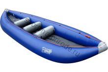 Байдарка (лодка) надувная Пионер 500 с уключинами (без весел)
