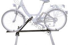 Крепление велосипеда на крышу PERUZZO Napoli черный (сталь), раздельный рельс
