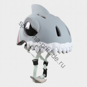 Защитный шлем Crazy Safety «Белая акула»
