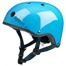 Шлем Micro Голубой неон