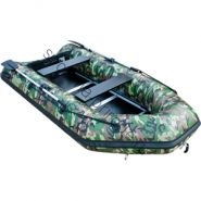 Лодка JET! надувная, модель SYDNEY 330 PL, цвет зеленый камуфляж