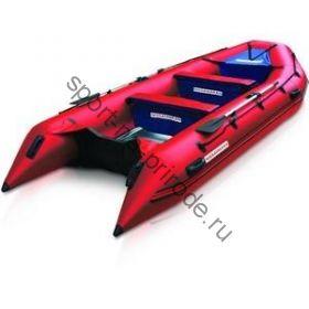 Лодка NISSAMARAN надувная, модель TORNADO 380, цвет красный  (аллюм. пол) A/L