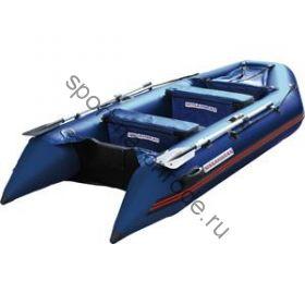 Лодка NISSAMARAN надувная, модель TORNADO 360, цвет синий (аллюм. пол) A/L