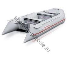 Лодка NISSAMARAN надувная, модель TORNADO 360, цвет серый (аллюм. пол) A/L