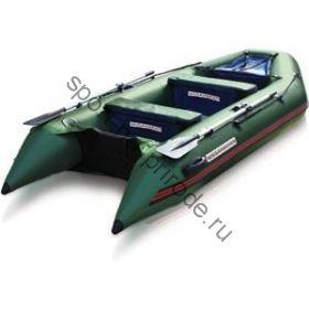 Лодка NISSAMARAN надувная, модель MUSSON 360, цвет зеленый (дерев. пол) P/L