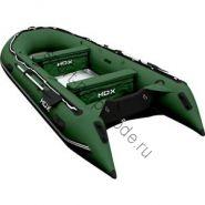 Лодка HDX надувная, модель OXYGEN 390 AL, цвет зелёный