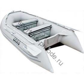 Лодка HDX надувная, модель OXYGEN 300 AL, цвет серый