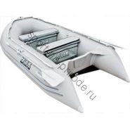 Лодка HDX надувная, модель OXYGEN 280 AL, цвет серый
