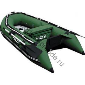 Лодка HDX надувная, модель OXYGEN 240 AL, цвет зелёный