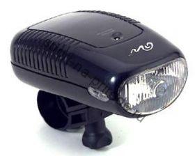 Передний фонарь QL-99N Krypton лампа, с крепежем, цв.черный