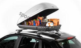 Бокс на крышу Roady-350 SOTRA 135х78х40 320л серый