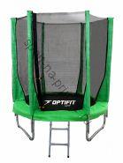 Батут OPTIFIT JUMP 6ft 1,83 м зеленый