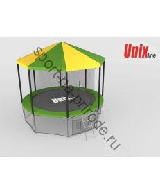 Крыша для батута Unix 8 ft inside (green)
