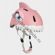 Защитный шлем Crazy Safety «Розовая акула»