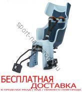 Велокресло Bobike Exclusive tour  1P с креплением на багажник/раму