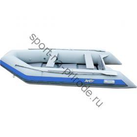 Лодка JET! надувная, модель SYDNEY 330 PL, цвет серый/синий