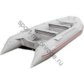 Лодка NISSAMARAN надувная, модель TORNADO 420, цвет серый (аллюм. пол) A/L