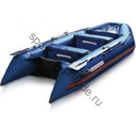 Лодка NISSAMARAN надувная, модель MUSSON 320, цвет синий (дерев. пол) P/L