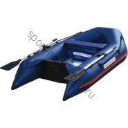 Лодка NISSAMARAN надувная, модель MUSSON 230, цвет синий (дерев. пол) P/L
