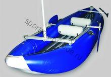 Мачта с креплением на надувную лодку