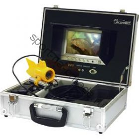 Подводная Камера JJ-CONNECT Underwater Camera Color (цветная, 7`` дисплей, в кейсе)
