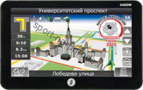 Навигатор JJ-CONNECT AutoNavigator 5450 Wide Registrator Россия (4GB flash, Camera, BT)